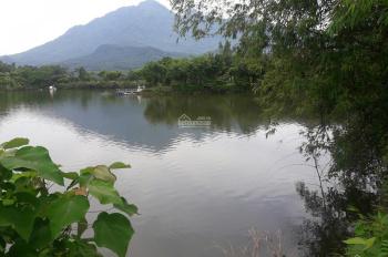 Bán 5.300m2 bám mặt hồ 200m, đất ở 1.000m2, view núi, bám hồ, cực đẹp, LH Nam Em 0966.615.605