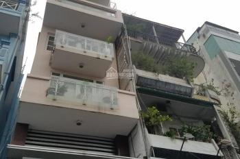 Cho thuê nhà mặt tiền phố Hai Bà Trưng, P. Tân Định, Q1. DT: 4.3x19m, 4 lầu, giá HĐ 80 tr/th