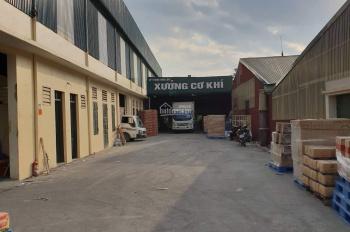 Cho thuê kho xưởng đẹp 2000m2 mặt đường Quốc Lộ 32 thị xã Sơn Tây. LH: A Thăng 0357444111