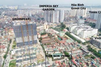 Chính chủ nhượng lại đất xây nhà trẻ 2900m2 nằm trong dự án Green Pearl cạnh Times City