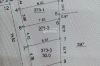 Bán đất 30.1m2 tại phường Phú Lãm - Hà Đông - Hà Nội, 790 triệu, cách 15m ra đường nhựa rộng 6 - 7m