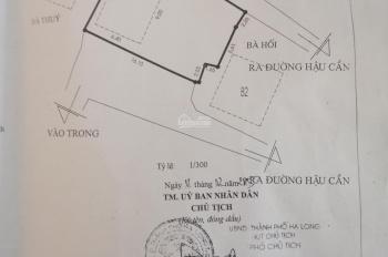 Bán đất tặng nhà và toàn bộ nội thất khu Hậu Cần phường Bãi Cháy TP Hạ Long, liên hệ: 0989630686