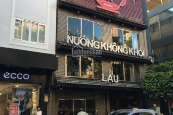 Bán nhà mặt tiền đường Lê Lợi, đối diện chợ Bến Thành, DT: 5x4m, trệt, 4 lầu, HĐ thuê 110 triệu/th