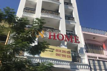 Cho thuê nhà mặt tiền phố Hai Bà Trưng, P. Tân Định, Q1. DT: 4.5x20m, 6 lầu, giá HĐ 80 tr/th