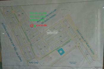 Bán đất 50m2 đất tại khu A, B và khu C,  Yên Nghĩa Hà Đông