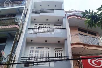 Bán nhà mặt tiền Trần Khánh Dư, quận 1, DT 4x15m, trệt 3 lầu mới, giá rẻ 14.8 tỷ