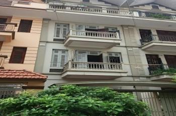 Cho thuê nhà phân lô ngõ 61 Phạm Tuấn Tài. Diện tích 70m2 x 5 tầng, ngõ 8m có hè, mặt tiền 5m