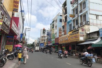 Góc 2MTKD đường Tân Hương, Phường Tân Qúy. DT: 4,5x16m vuông vắn, đủ lộ giới vỉa hè 5m hẻm hông 6m