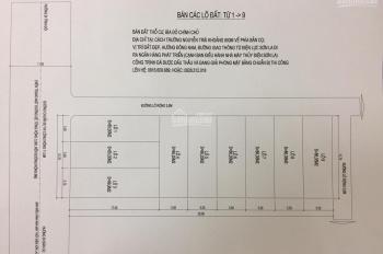 Bán đất mặt đường Điện Lực đi bản Cọ, thành phố Sơn La. LH: 0947992888