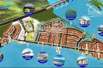 Nhận ký gửi mua bán đất nền dự án Marine City. LH: 0966271439