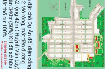 Đất nền ngay KCN Vsip 2 mở rộng, tập trung đông công nhân, giá chỉ 680 triệu/nền. LH: 0901 692 999