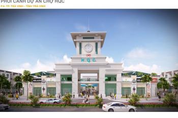 Bán nhà mặt chợ mới Trà Vinh, tp Trà Vinh
