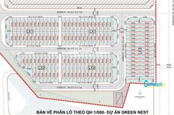 Cần bán đất nền Green Nest Khải Vy, DT 5x18m, đối diện chung cư giá chỉ 6.3 tỷ. LH 0901.424.068