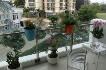Ban công rộng: Bán căn hộ Estella 2PN 110m2 view Bitexco, LM81, nội thất 500tr, 5.5 tỷ - 0933838233