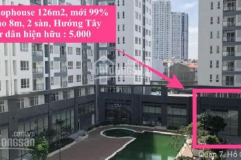Bán Shophouse thương mại khối đế 126m2 Florita Him Lam Q7 - Ngang 10.8m, căn góc. Phục vụ 3.000 dân