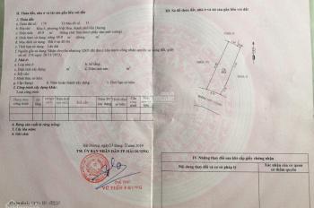 Bán 74,5m2 đất Việt Hòa, ô tô tải vào tận đất, giá 8tr /m2
