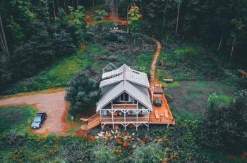 Bán đất biệt thự nghỉ dưỡng ở Bảo Lộc 900.000đ/m2 view hồ view đồi thông