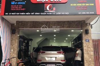 Cho thuê mặt bằng kinh doanh tại mặt ngõ 129 Thiên Hiền - Mỹ Đình, ô tô đỗ cửa 7tr/th, Dt 40m2