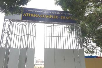 Bán gấp CH suất ngoại giao rẻ nhất dự án Athena Complex Pháp Vân, 20 tr/m2, 0327304466