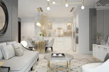 Cho thuê căn hộ 2 phòng Vinhomes Central Park view sông nội thất Châu Âu lầu 19 giá call 0977771919