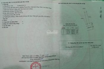 Cần tiền bán gấp lô đất thổ cư KDC A&E Thanh Hải. Giá 2.1 tỷ