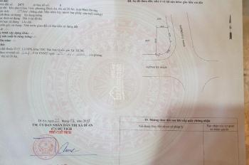 Nhượng lô góc 2 mặt tiền rất đẹp KDC Châu Thới, 178m2, TC 100%, đường 20m, hướng mất, đất cao