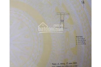 Bán nhà TT Trâu Quỳ, DT: 50,2m2, MT: 3,5m, 3 tầng. Chỉ: 2,2 tỷ