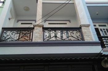 Bán nhà mặt tiền 1 trệt 2 lầu đường Nguyễn An Ninh, phường 3, giá 3.2 tỷ sổ hồng riêng