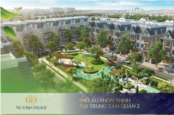 Biệt thự Victoria Village Quận 2, mặt tiền Lâm Quang Ky, giá 33tỷ căn/267m2 đất nhà 3,5 tấm