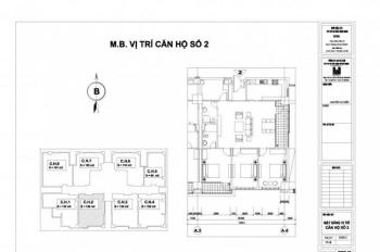 Bán chung cư phòng 802 tòa N01T2 khu Ngoại Giao Đoàn 128m2, giá 4.25 tỷ, full nội thất