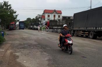 Cho thuê kho xưởng 1600m2 giá 75tr/th, mới xây dựng xong Quốc lộ 1A, xe container 40F ra vào 24/24