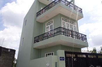 Bán nhà 1 trệt 2 lầu (4,6x12m) 3,35 tỷ, đường Trần Thị Hè, P. Hiệp Thành, Q12, LH: 0909232866
