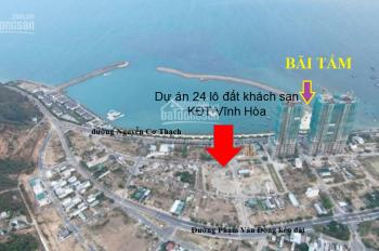 Đất xây khách sạn mặt biển Nha Trang - sổ đỏ liền tay - 0917551183