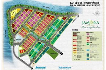 Đất nền nhà phố 35 tr/m2 - biệt thự song lập 32 tr/m2 dự án Jamona Home Resort giá tốt nhất