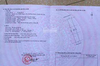 Bán đất tại khu tập thể 386 - Xã Đình Xuyên - Huyện Gia Lâm - TP Hà Nội diện tích: 57.1m2