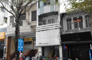 Cho thuê nhà mặt tiền Võ Thị Sáu - Đinh Tiên Hoàng, Q1, 6x18m, trệt, 4 lầu, 10 phòng, giá 60 tr/th