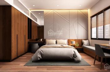 Cho thuê căn hộ dịch vụ khu người Nhật 1 hầm 7 tầng 15 CHDV mới NT hiện đại 208,26 triệu/th