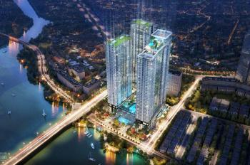 Cần bán căn hộ 2PN 98m2 dự án Sunwah Pearl, căn góc view Bitexco quận 1. LH 0903423229