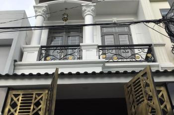Nhà 1 trệt 2 lầu, đường 24, Linh Đông, (4m x 12,5m) 4 PN, 3WC, 1 PK, sổ hoàn công bán 4 tỷ 550