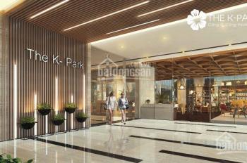 Bán gấp chung cư 2 phòng ngủ, 2 wc The K Park giá rẻ bất ngờ, liên hệ 0985.183.693