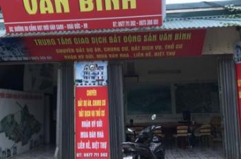 Văn phòng bất động sản Văn Bình đang cần bán một số biệt thự liền kề sau