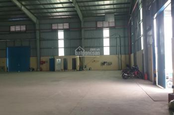Cần cho thuê lâu dài nhà xưởng mặt tiền trong khu công nghiệp thuộc xã Tân Kim, huyện Cần Giuộc