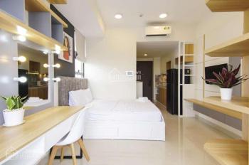Cho thuê CH Millennium giá chỉ 16 tr/th DT 54m2, 1PN 1WC, full nội thất. LH Vân 0909943694 xem nhà