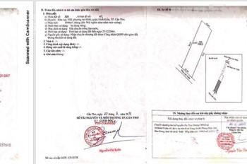 Bán đất khu vực VIII phường An Bình, Quận Ninh Kiều, DT 1.500m2, giá 1,5 tỷ/công