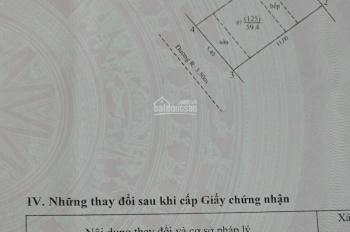 Bán nhà đường Hà Huy Tập, thị trấn Yên Viên, Gia Lâm DT 55m2, mặt tiền 5m, LH 0911551516