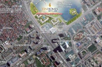 Cho thuê sàn văn phòng Vinhomes Sky Lake, lô góc 220m2, 2 mặt view hồ, liên hệ: 0942.87.9999