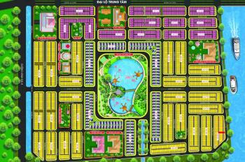 Lô đất thổ cư 7x23.4m, LKV - D7.6 tổng 163.8m2, view sông, giá 1.1 tỷ 0938008858