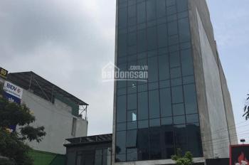Cho thuê nhà mặt phố Duy Tân số 1B, Cầu Giấy 100m2 x 6T, MT 5,5m làm ngân hàng, nhà hàng, VP, 95tr