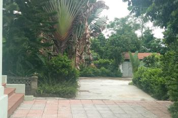 Bán khuôn viên nhà vườn sinh thái 2600m2 Lương Sơn, Hòa Bình view núi view ruộng bậc thang có suối