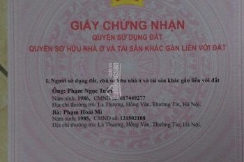 Chính chủ bán đất thôn Sáp Mai, xã Võng La, Đông Anh, Hà Nội. Lh : Mr Tuấn_0947383695.